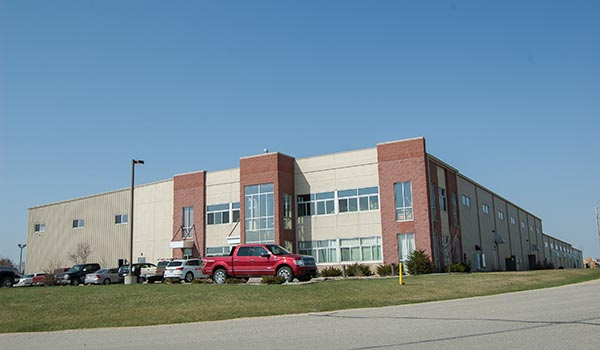 Badger Custom Pallet facility